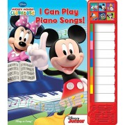 Mickey Mouse Clubhouse: I Can Play Piano, Hardcover