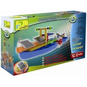 WELT Physics Educational Solar power workshop Puzzle Model building toys Learn how solar power works and enhance your thinking engineering skill build your own vehicle with your imagination make 12+ model. Must have product for children. (WLX899)