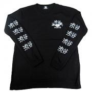 ≪KISS,TOKYO≫くっきー!コラボ指文字渋谷ロングスリーブTシャツ(ブラック)