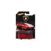 Carrinho Hot Wheels Lamborghini Countach Vermelha DWF24 Mattel