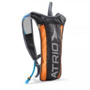 Mochila de Hidratação Preto/Laranja 2 Litros + Compartimento
