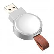 Baseus Dotter mini Qi 2.5W vezeték nélküli töltő Apple Watch fehér (WXYDIW02 - 02)