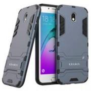 Husa KRASSUS pentru Samsung Galaxy J7 2017 SM-J730 versiune Europa hibrid antishock dark blue