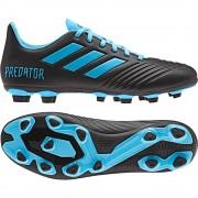 adidas Predator 19.4 FxG Black Cyan