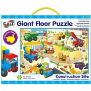 Puzzle de podea Santierul 30 piese Galt