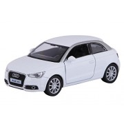 """Civil 5"""" 1:32 Scale 2010 Audi A1 Diecast Model Car Door Openable and Pull Back car by Assemble Multicolored"""
