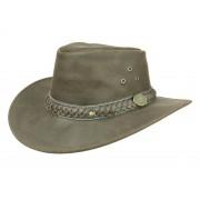Scippis Wilsons Outback Lederhut, Braun (braun) 56-57 cm (M)