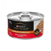 Purina Pro Plan Beef & Chicken Entrée in Gravy Canned Cat Food, 3-oz, case of 24