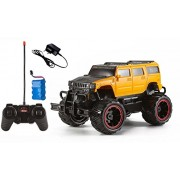 Magicwand 1:20 Scale Off-Road Monster Racing H2 Hummer (Yellow & Black)