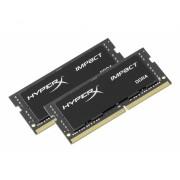 KINGSTON SODIMM DDR4 2x16GB 2666MHz HX426S15IB2K2/32 HyperX Impact