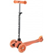 Самокат-кикборд Novatrack Disco-kids, колеса 120/80 мм, оранжевый
