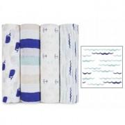 Aden + Anais Arrullo Muselina Classic High Seas aden+anais (1 ud) - waves