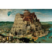 Puzzle Ravensburger - Pieter Brueghel: Bruegel The Elder - Turnul Babel, 5.000 piese (17423)