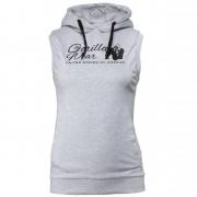 Gorilla Wear Selma Sleeveless Hoodie - Grijs - XS