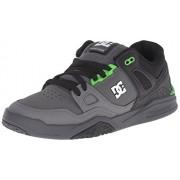 DC Men s Stag 2 Skate Shoe Black/Dark Shadow/Green 6 D(M) US