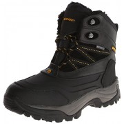 Hi-Tec Men's Snow Peak 200 WP Insulated Waterproof Snow Boot,Black/Gold,7 M US