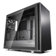Кутия Fractal Design Define S2 Gunmetal – TG, mATX, ATX, ITX, EATX, USB 3.1 Gen 2 Type-C, черна, без захранване
