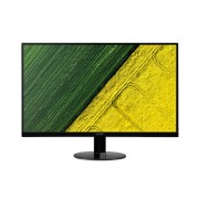 Acer SA270BID 27 quot;, IPS, FHD, 1920 x 1080 pikslit, 16:9, 4 ms, 250 cd/m², must, DVI
