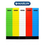 Marlin Lever Arch File Spine Labels 10's, Retail