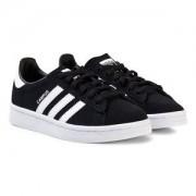 adidas Originals Kids Campus Sneakers Svart Barnskor 34 (UK 2)