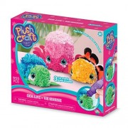 "The Orb Factory Limited 10027971 Plush Craft 3D Sea Life Mini, 10"" x 3"" x 8.5"", Pink/Green/Orange/Blue/White/Black"