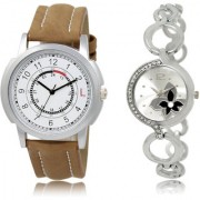 The Shopoholic White Silver Combo New Collection White And Silver Dial Analog Watch For Boys And Girls Watches Men Stylish
