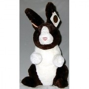 Gund Plush Brown and White Bunny 14 inches Exclusive from Borders Bookstore
