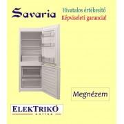 Savaria SV202 kombinált hűtőszekrény , alsó fagyasztóval, A+ energiaosztály
