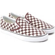Vans Classic Slip-On Canvas Shoes For Women(Brown)