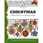 Adult Coloring Book, Color Your Way To CHRISTMAS, Premium Adult Coloring Pages for Watercolor, Markers, Colored Pencils, Made in the USA by Imagine Arts Publishing