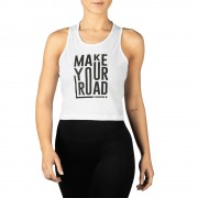 Prozis Top corto Power Up - Make Your Road