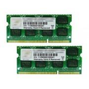 G.Skill SQ Series - DDR3 - 16 Go : 2 x 8 Go - SO DIMM 204 broches - 1600 MHz / PC3-12800 - CL10 - 1.5 V - mémoire sans tampon - non ECC