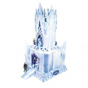 Elsas Ice Castle Doll House ~ Official Frozen Merchandise ~ Cardboard Castle & Character cut outs