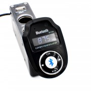 A2DP Bluetooth FM transmitter s podporou handsfree