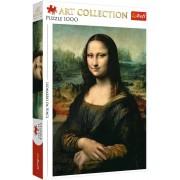 Puzzle Trefl - Leonardo Da Vinci: Mona Lisa, 1.000 piese (10542)