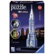 Ravensburger puzzle 3d chrysler building night edition 12595