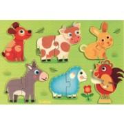 Puzzle Coucou - Animalute de la ferma