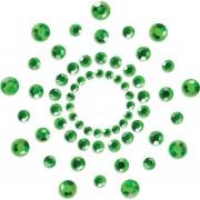 Copricapezzoli adesivi Bijoux Indiscrets Mimi Verde