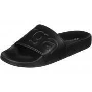 Superga Slides Damen Badeschuhe schwarz Gr. 36,0