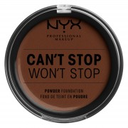 NYX Professional Makeup Can't Stop Won't Stop Powder Foundation (Various Shades) - Deep Walnut