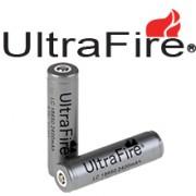 PILES ULTRAFIRE 18650 3.7V RECHARGEABLE PAR 2