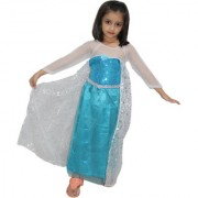 Kaku fancy dresses Princes Elsa Western Costume For Kids School Annual function/Theme Party/Competition