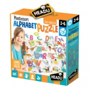 Puzzle alfabet 3D - Headu