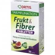 ORTIS Frukt & Fibrer 30 tabletter