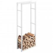[en.casa] Držiak na palivové drevo AAFR-6618 biely