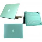 Carcasa Protector Case Funda Para Macbook Todos Los Modelos: Pro, Air, Retina, White -Verde