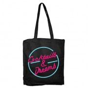 Coctails & Dreams Tote Bag, Tote Bag