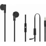 Casti Audio cu Microfon Qoltec Negru 50804