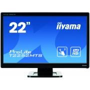 iiyama ProLite T2252MTS-B3 22' 2-Point-Optical-Multi-Touch TN-LED 2ms 1920x1080 2ms DVI-D HDMI USB
