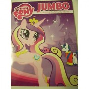 My Little Pony Friendship is Magic Jumbo Coloring & Activity Book ~ Princess Cadance & Shining Armor